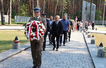 День Войска польского в Заповеднике