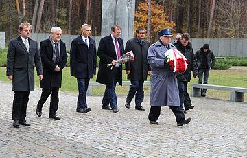 Wizyta oficjalnej delegacji na czele z Prezesem Najwyższej Izby Kontroli Rzeczypospolitej Polskiej Krzysztofem Kwiatkowskim