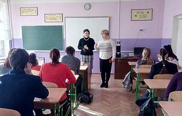 Лекторій Заповідника у київській школі № 60