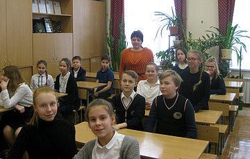 Лекція у Предславинській гімназії № 56