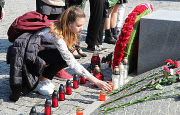 У Заповіднику вшанували пам'ять жертв Катиньської трагедії