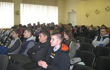 Лекция для старшеклассников школы № 269 г. Киева