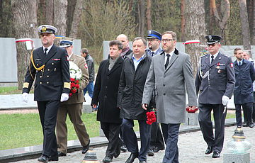 День памяти жертв Катыни в Быковне