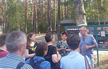 Западные историки с визитом в Быковне