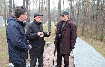 Польские археологи Анджей Кола и Мечислав Гура посетили Заповедник