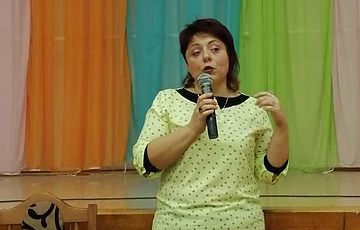 Лекция в вышгородской школе