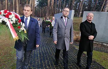 Визит заместителя директора Польского института национальной памяти