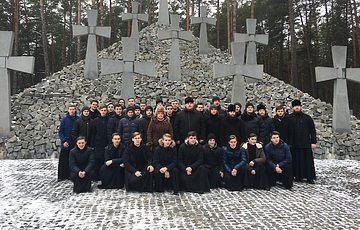 Визит в Заповедник воспитанников Киевской духовной академии и семинарии