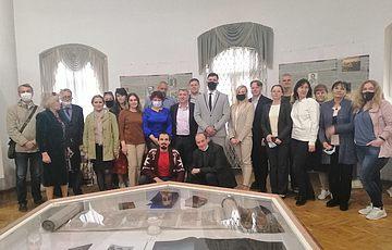 Открытие фотодокументальной выставки «Расстрелянная элита: Быковнянское измерение» в Музее книги и книгопечатания Украины