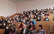 Зустріч зі студентами Національного авіаційного університету