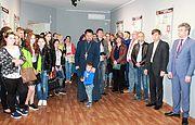 Відкриття виставки «Биківня – територія пам'яті» в музеї-заповіднику «Садиба Попова»