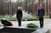 Vice Prime Minister of the Republic of Poland Petr Glinsky paid tribute to the memory of the victims of totalitarianism buried in Bykivnia