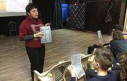 Лекция в киевском коллегиуме