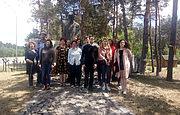 Frehch historicians visited Bykivnia