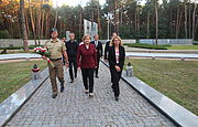 Visit of the Member of European Parlament Anna Fotyga
