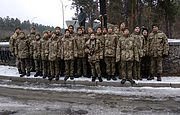Майбутні українські офіцери вшанували пам'ять жертв сталінських репресій у Биківні