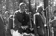По следам первооткрывателей Быковнянских захоронений (к 5-й годовщине со дня смерти Николая Лысенко)