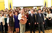 Відкриття ХІІ Міжнародного конкурсу з українознавства