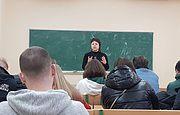 Лекція для майбутніх журналістів