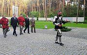 Польськие рыцари почтили память жертв сталинских репрессий в Быковне