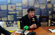 Виставка «Перетинаючи Київський Стікс» у КМДА