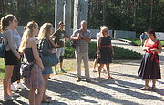 Students-ukrainologists from Switzerland visited Bykivnya