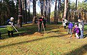 Товариство поляків «Згода» взяло участь у прибиранні у Заповіднику