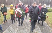 Mayors of the cities of Ukraine and Poland paid tribute to the victims of Stalinist repressions