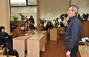 Lecture at the Kiev State College of Tourism and Hotel Management