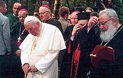 «Я пришел, чтобы поклониться святыням вашей истории ...» (по случаю визита Иоанна Павла II в Быковню и 100-летия со дня рождения понтифика)