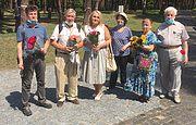Члени Киiвського товариства полiтв'язнiв та репресованих відвідали Заповідник