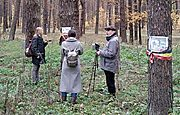 The reserve was visited by a film crew of a Ukrainian-German educational project