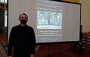 Лекция о репрессированых юристах в Національной библиотеке Украины им. Ярослава Мудрого