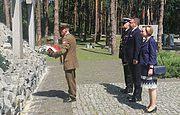 У Заповіднику в День Війська Польського вшанували загиблих від радянського терору