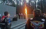 Uczestnicy XXI Rajdu Katyńskiego odwiedzili Bykowne