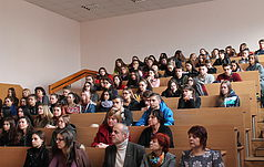 Meeting with students of National Aviation University