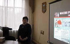 Presentation in Institute of Literature named afterT. G. Shevchenko of NAS of Ukraine