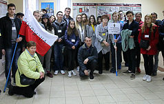 A group of pilgrims from Poland visited the Reserve