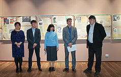 Відкриття виставки «Слово, обірване у Биківні» в Запорізькому обласному краєзнавчому музеї