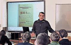 Лекторій Заповідника  у київському Природничо-науковому ліцеї № 145