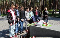 «Урок истории. Катыньская трагедмя»  в Быковне