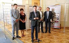 В Верховной Раде открыли выставку о Великом терроре