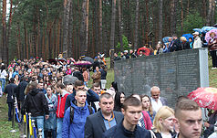 Commemoration of the victims of political repressions in Bykivnya