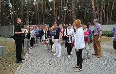 Прочани з Хорватії вшанували пам'ять жертв сталінських репресій у Биківні