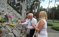 У день річниці початку Великого терору в Биківні вшанували пам'ять жертв сталінських репресій