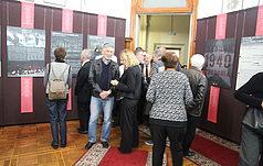 Колектив Заповідника взяв участь у виставці «Вмирали не тільки за себе»