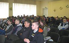 Лекція для старшокласників школи № 269 м. Києва