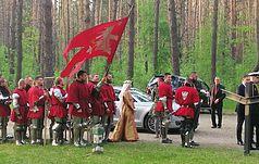 Polscy rycerzy oddali hołd ofiarom terroru stalinowskiego w Bykowni