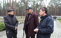 Польські археологи Анджей Кола і Мечислав Гура відвідали Заповідник