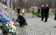 Голова польського Інституту національної пам'яті вшанував жертв репресій у Биківні
